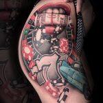 Las Vegas Tattoo von Alex, Peckstage