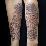 Dotwork- Mandal Tattoo von Tania, Peckstage