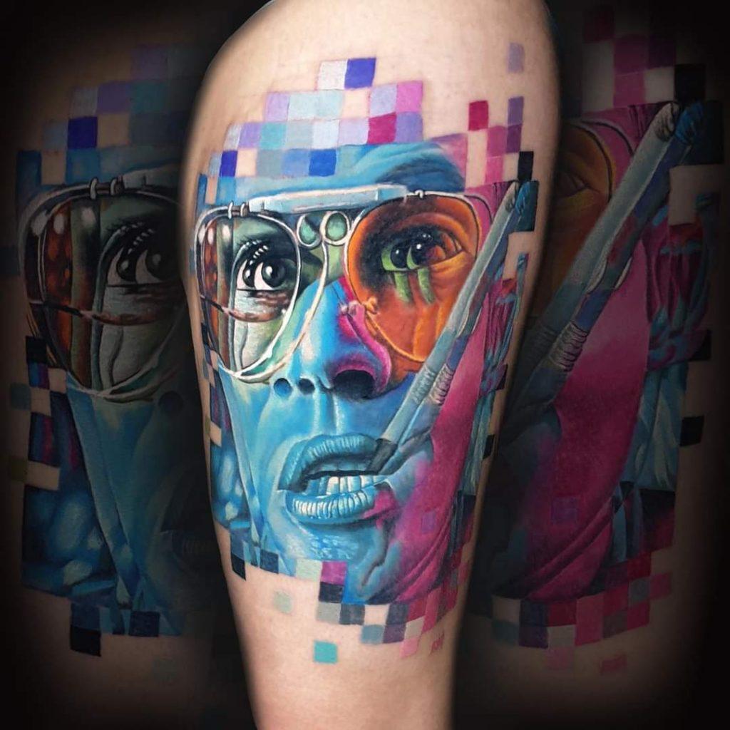 realitic tattoo