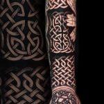 Keltisches Tattoo von Alex, Peckstage