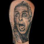 Rammstein Tattoo von Benji, Peckstage