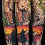 Realistic Tattoo Farbe