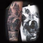 Bär Tattoo von Andre